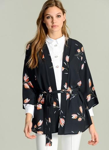 Agenda - Desenli Kimono